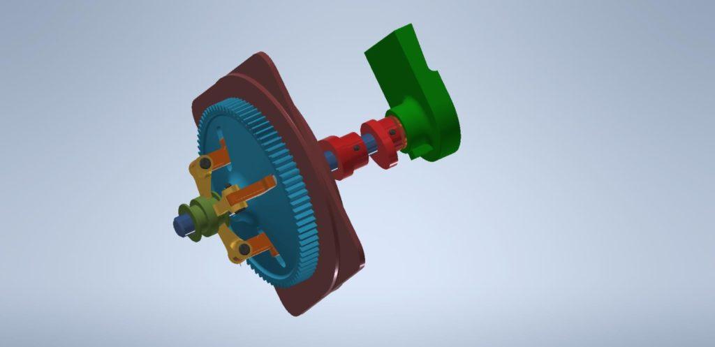 3D Inventor - spojka