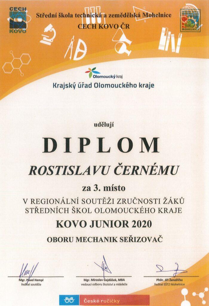 České ručičky - KOVO junior